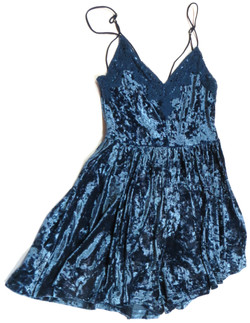 Stretch Velvet Romper