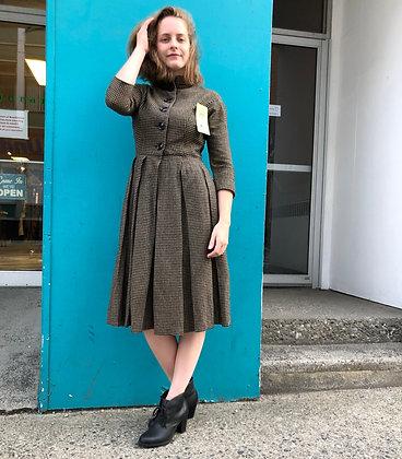 Vintage 60s Peck & Peck Wool Dress