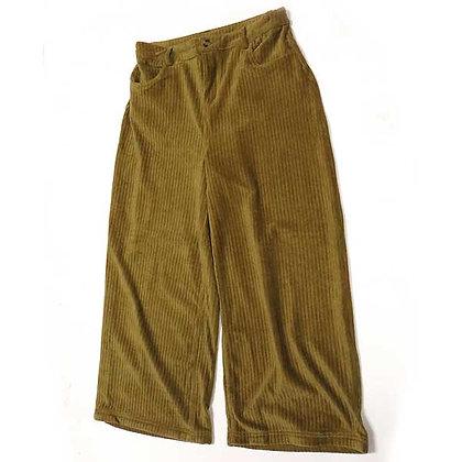 NEW Wide Leg Cozy Velour Pants