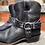 Thumbnail: FRYE Black Leather Western Booties ~ Size 11/9.5