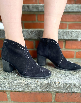 Frye Studded Suede Booties ~ Size 8