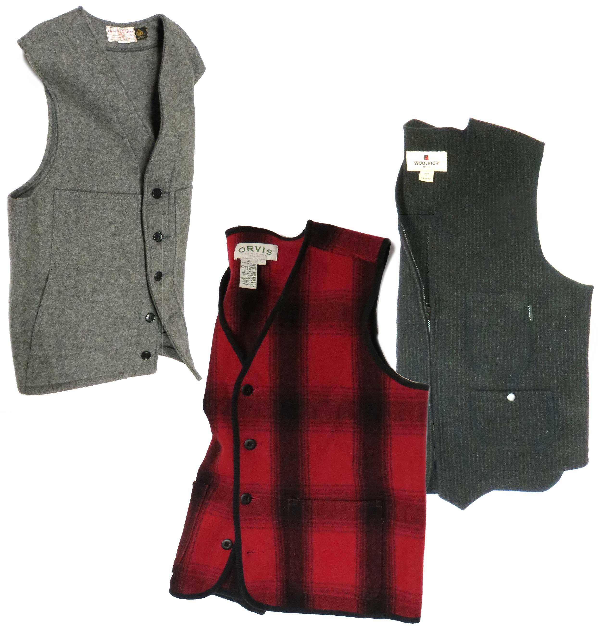 Heritage Wool Hunting Vests