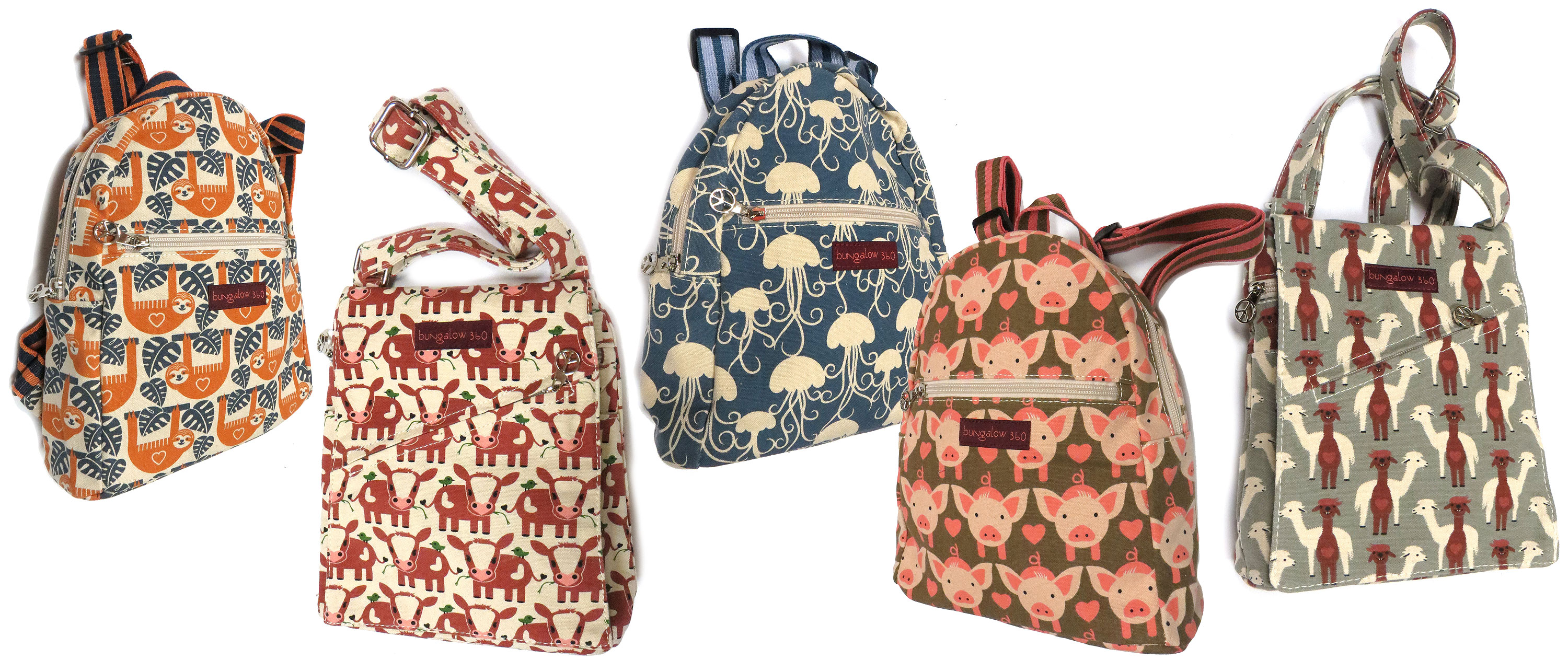 Canvas Bags and Mini Backpacks