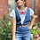 Thumbnail: Hand-Embroidered Tehuacan Blouse