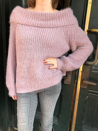 NEW Off-The-Shoulder Sweater