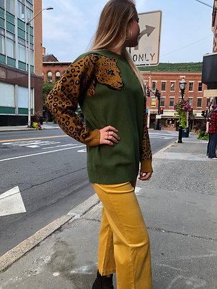 NEW Leopard Oversized Sweater