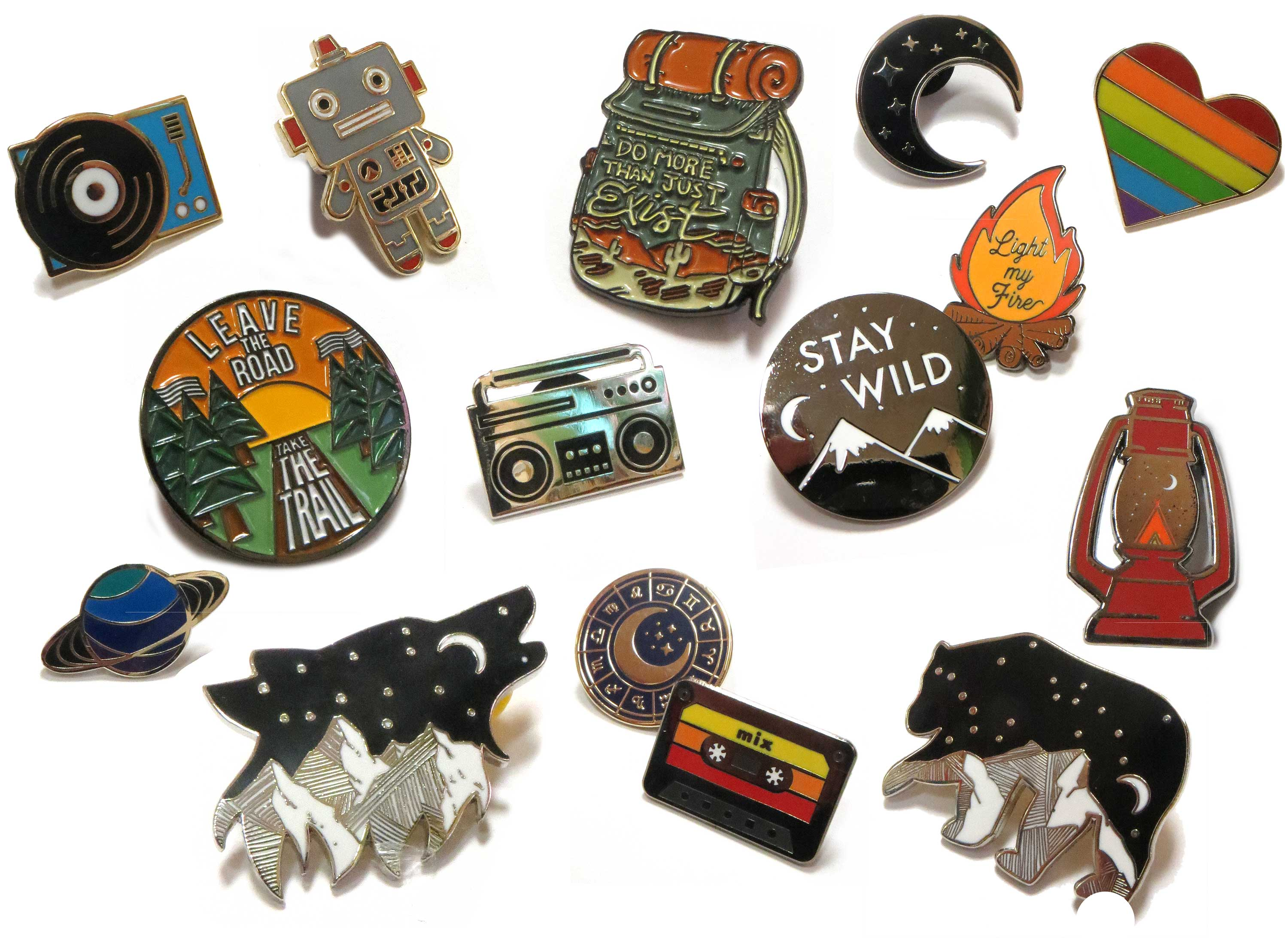 Enamel Pins