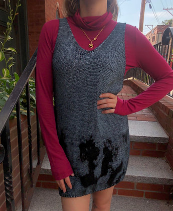 Cotton Knit Tank Tunic