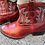 Thumbnail: Ariat Red Cowgirl Booties