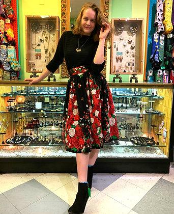 Collectif London Floral Skirt