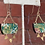 Thumbnail: Wooden Japanese Paper Resin Earrings w/Triangles
