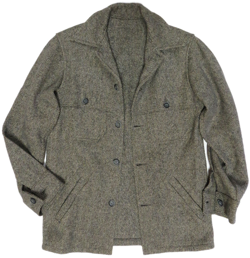 Vintage Herringbone Hunting Shirt