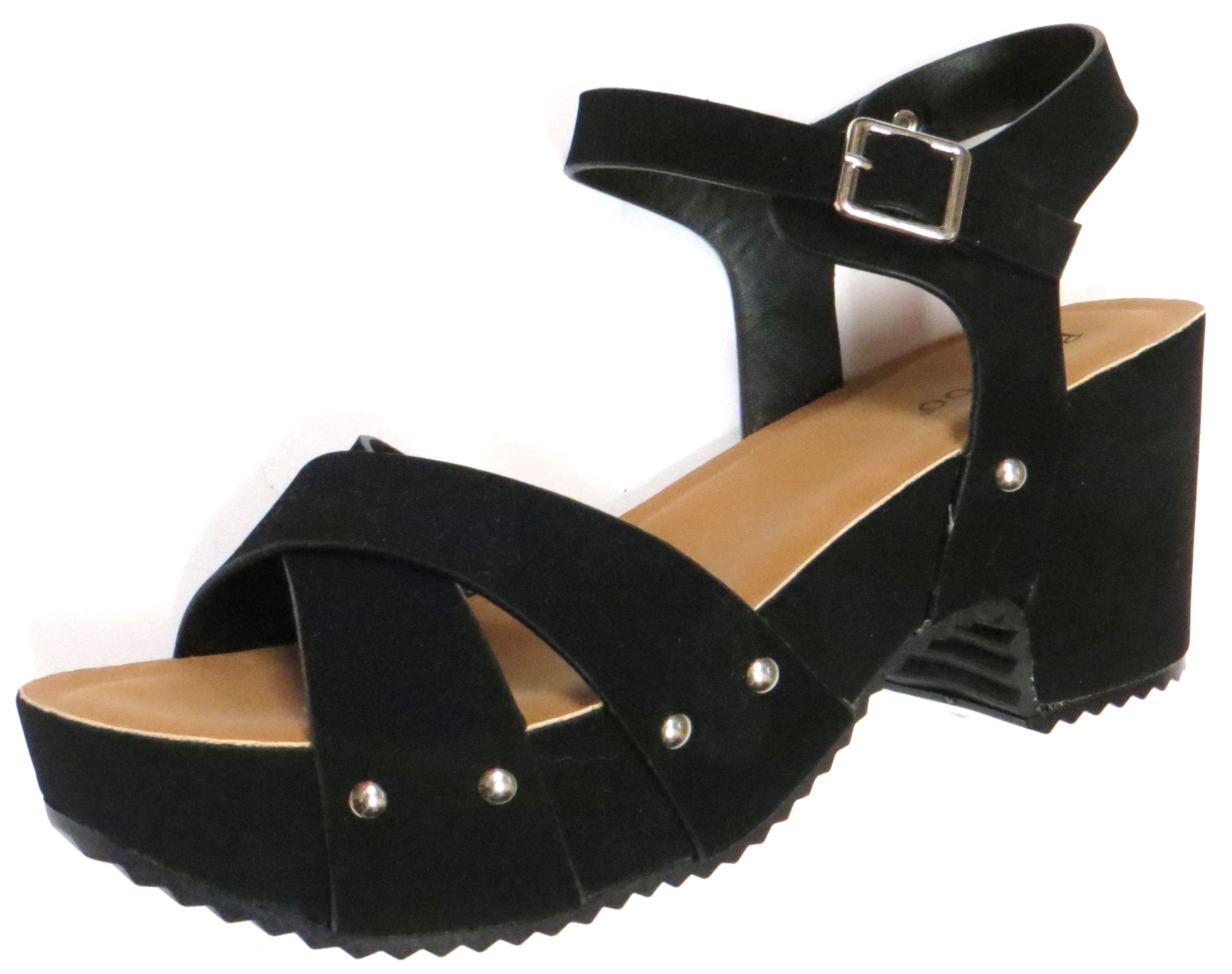 Studded Platform Sandal