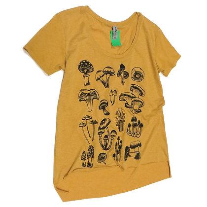 Mushroom Forager T-Shirt in Mustard