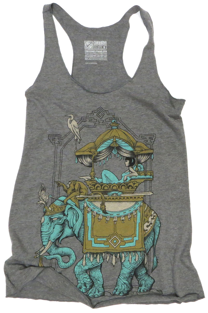 Turquoise Elephant Tank