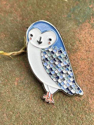 Cute Owl Enamel Pin