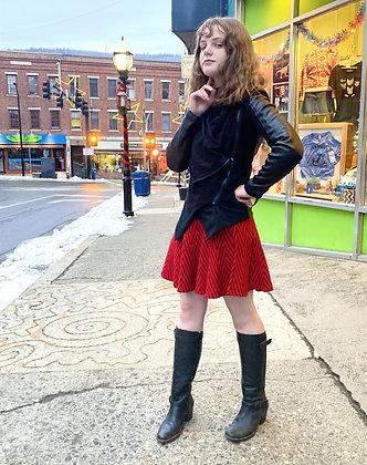Blank NYC Faux Leather Aysemetrical Moto Jacket