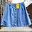 Thumbnail: Vintage '70s XL Denim Skirt