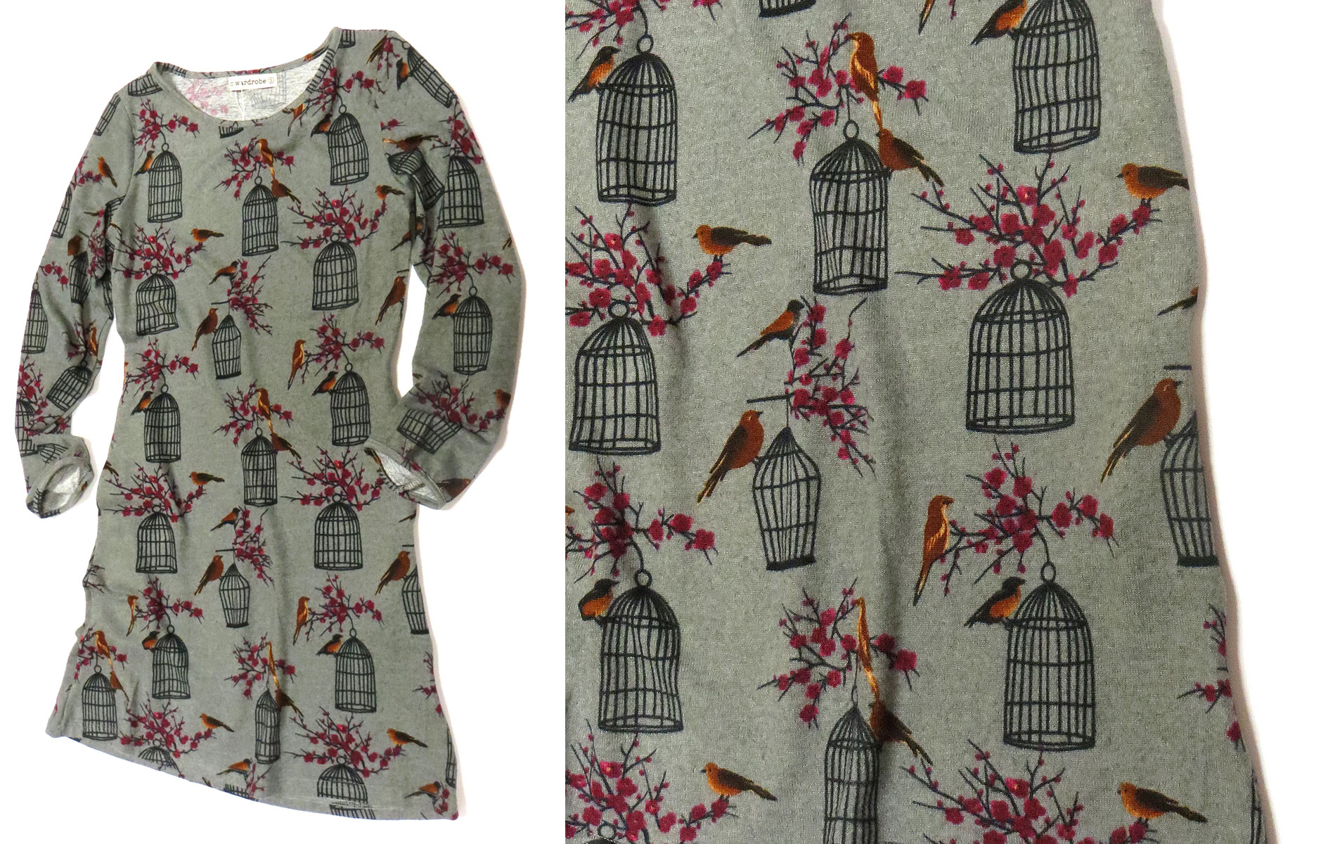 Birdcage Tunic Dress
