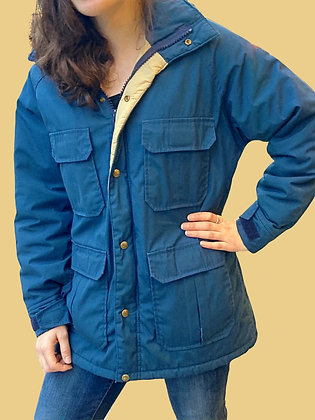 Vintage 70's Woolrich Hooded Snow Jacket