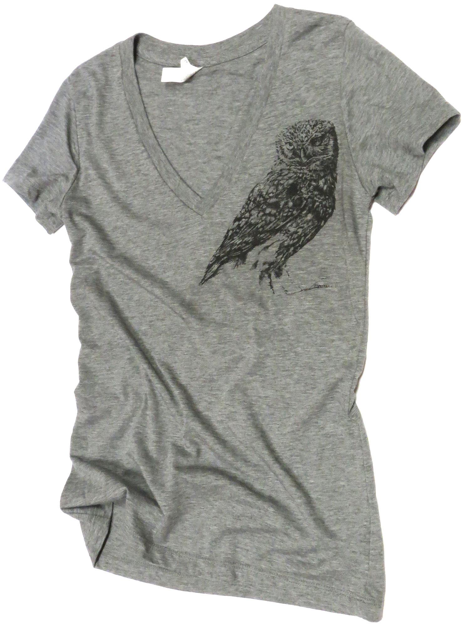 Owl V-Neck