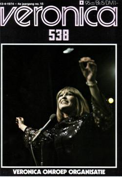 1974 Veronica gids