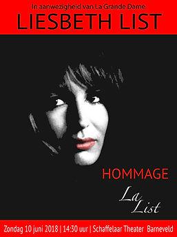 "Poster ""Hommage La List"""