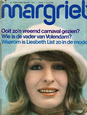 Afbeeldingsresultaat voor margriet 1973