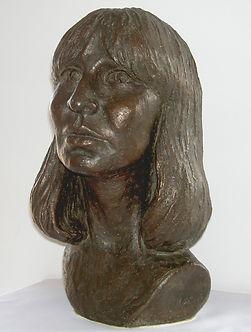 1981 Borstbeeld gemaakt door Geert Kunen B-01.jpg