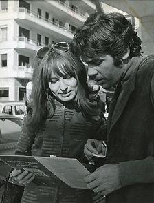 1968-222 met Pierre Barouh_Hans J Hoffma