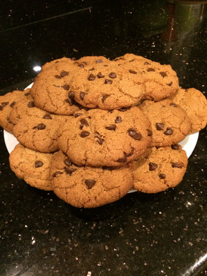 Easy Amazing Paleo Chocolate Chip Cookies