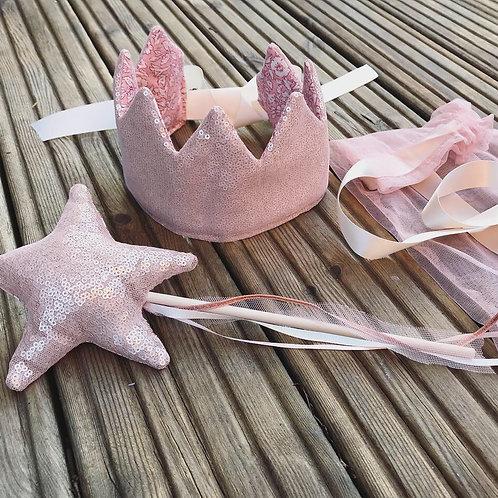 Sequin fairy set