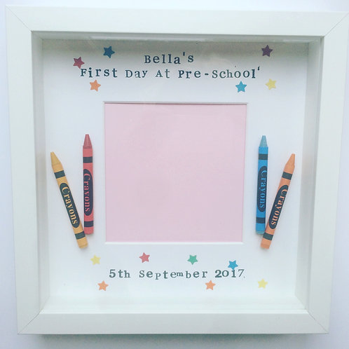 My First Day at School Personalised