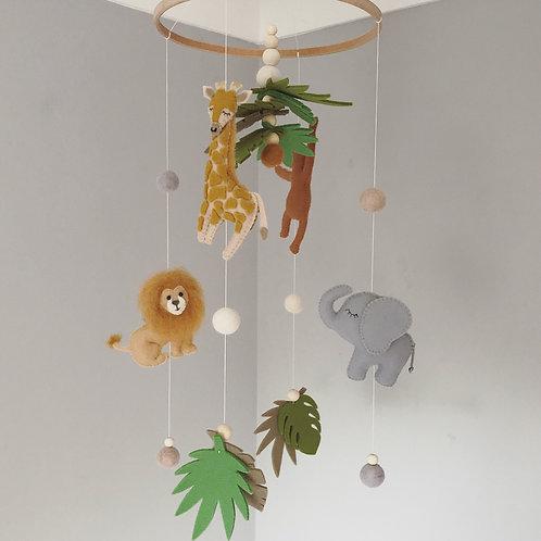 Safari Mobile with 3 animal characters
