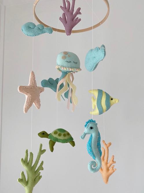 Sea creatures mobile