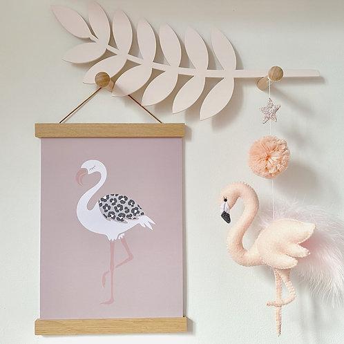 Single Soft Flamingo