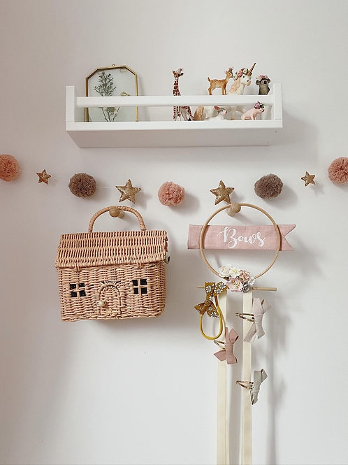 Pom and Stars Garland