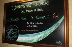 I JORNADA GASTRONÓMICA DEL PESCADO