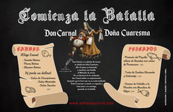DON CARNAL DOÑA CUARESMA