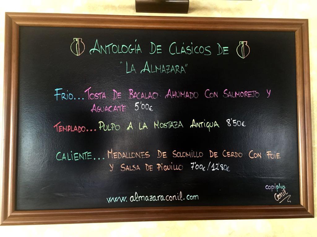 ANTOLOGÍA CLÁSICOS DE LA ALMAZARA