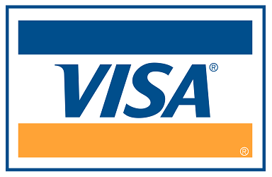 Visa debit/credit cards accepted