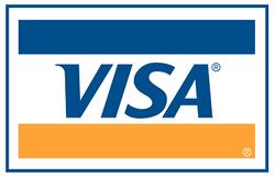 Visa debit/credit cards accepted