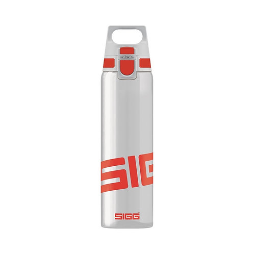 SIGG Total Clear 0.75L Water Bottle Red