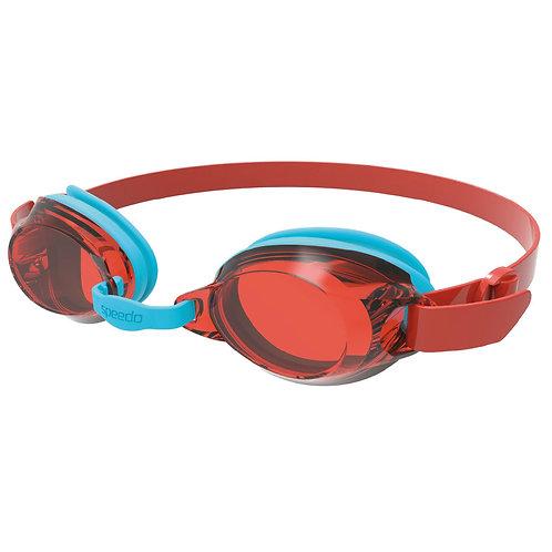 Speedo Jet Junior Goggle - Red/Blue