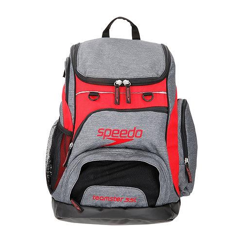 Speedo Teamster T-Kit Swim Bag - Grey and Red