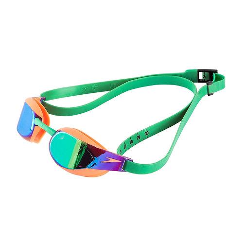 Speedo Fastskin Elite Mirror Goggle Orange Green