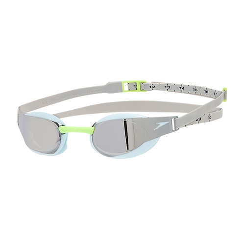 Speedo Fastskin Elite Mirror Goggle Blue Silver