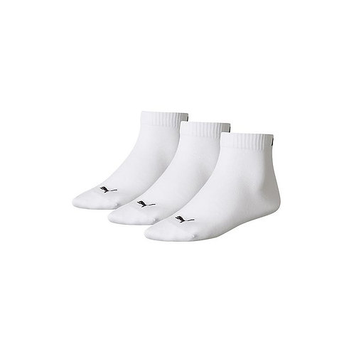 Puma Trainer Socks 3 Pairs White