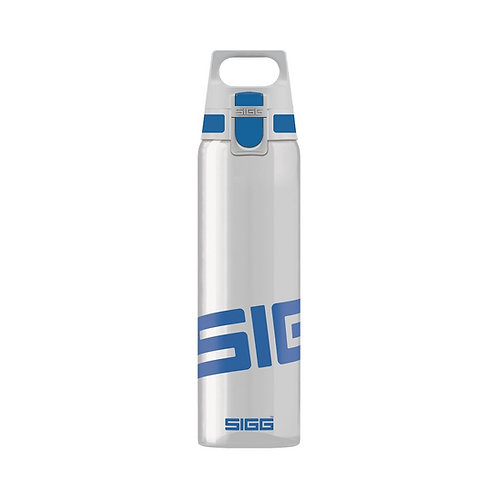 SIGG Total Clear 0.75L Water Bottle Blue