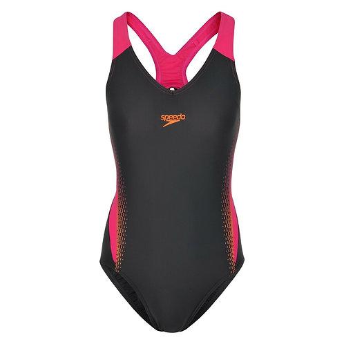 Speedo Endurance10 V-Neck Placement Medalist Swimsuit
